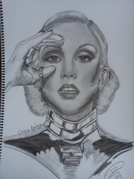 Christina Aguilera by Mitsos